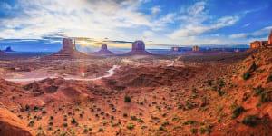 Paysage ouest américain