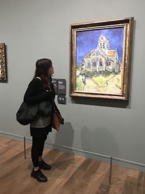 Vue tableau musée d'orsay